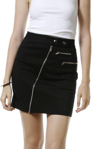 Rebecca Minkoff: Zipper Skirt