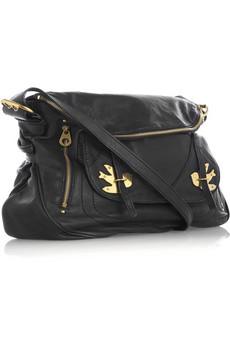 Marc by Marc Jacobs: Sasha leather shoulder bag